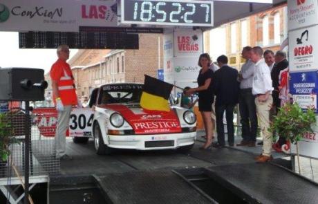Emmily Talpe bij de Ypres Rally 2015