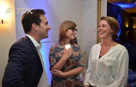 Emmily Talpe in gesprek met Francesco Vanderjeugd