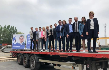 Persvoorstelling Open Vld West-Vlaanderen over klimaat