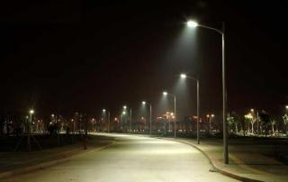 Tegen Doven Straatverlichting