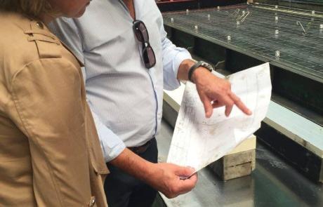 Bedrijfsleider Carlos Valcke geeft uitleg bij de plannen