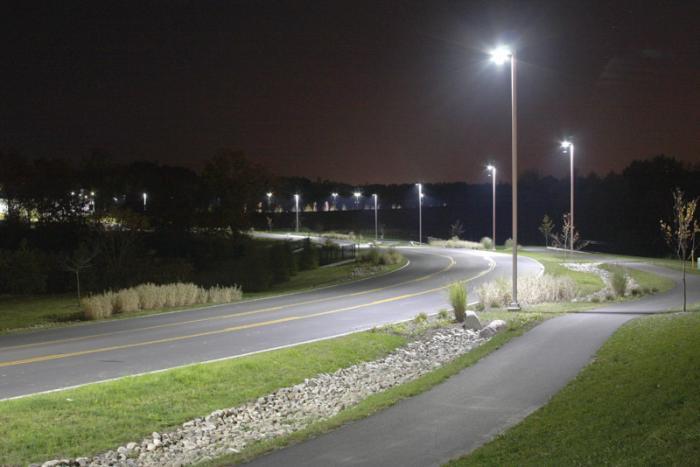 doven straatverlichting