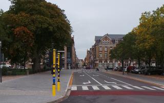 verkeerslichten station Ieper