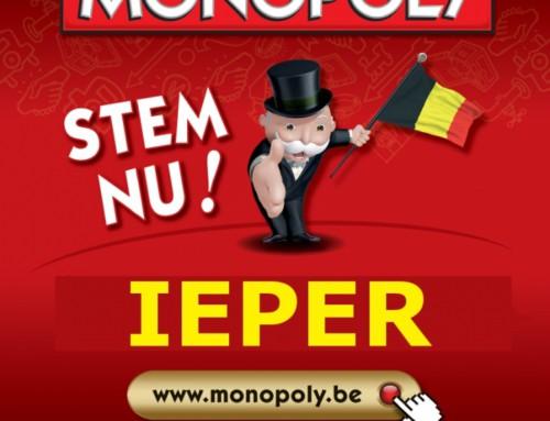 Ieper hoogste nieuwkomer op Monopoly