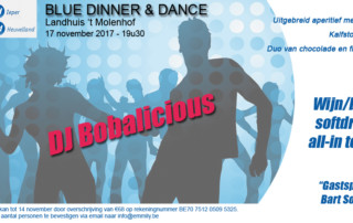 Blue Dinner and Dance