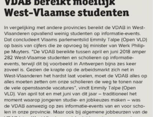 VDAB bereikt moeilijk West-Vlaamse studenten