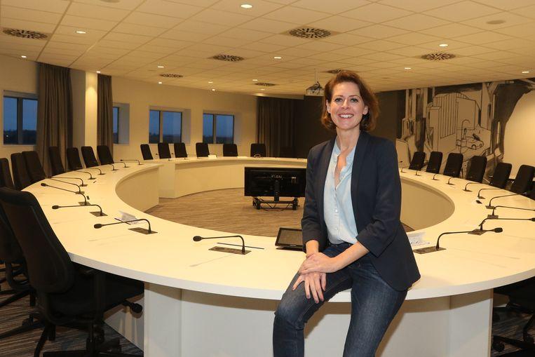 Burgemeester Emmily Talpe