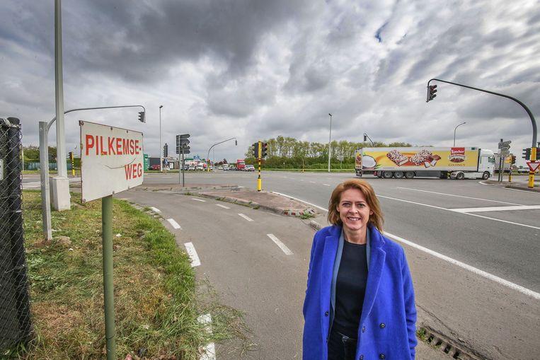 Kruispunt Pilkemseweg