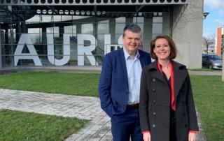 Minister van Binnenlands Bestuur Bart Somers op werkbezoek in Ieper