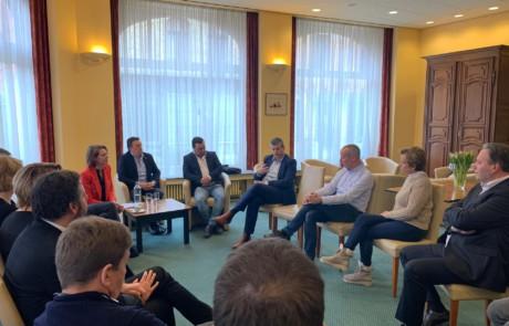 Bart Somers in gesprek met hotelsector Ieper rond Brexit