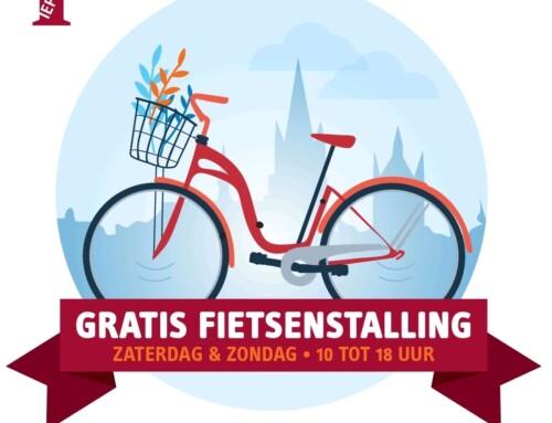 Gratis fietsenstalling met toezicht op Ieperse Grote Markt