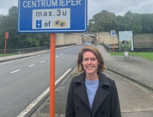 Nieuw parkeerplan voor Ieper